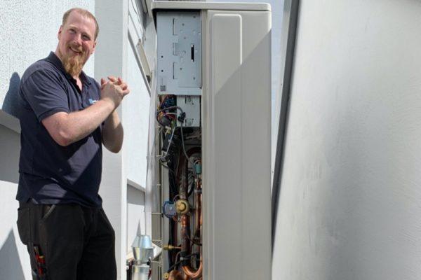 Foto: Inbetriebnahme Klimaanlage