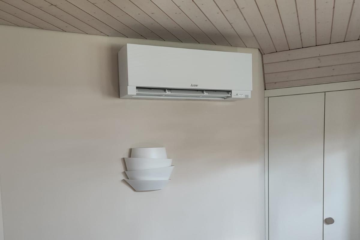 Design Klimaanlage Mitsubishi