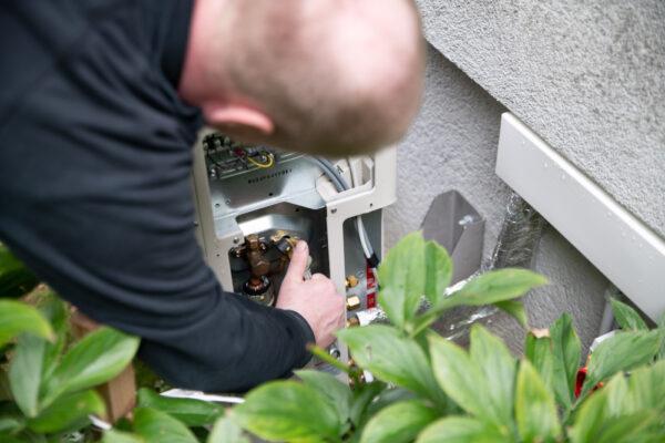 Montage Aussengerät Klimaanlage