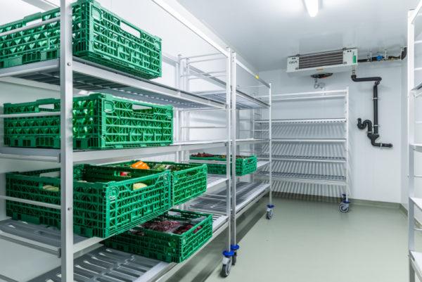 Kombi Kühl- und Tiefkühlzelle
