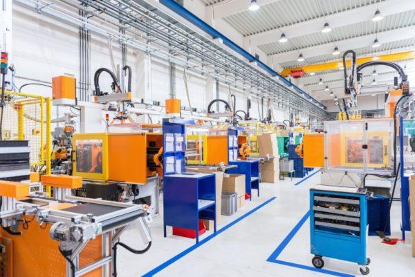 Kühlung Produktionshalle