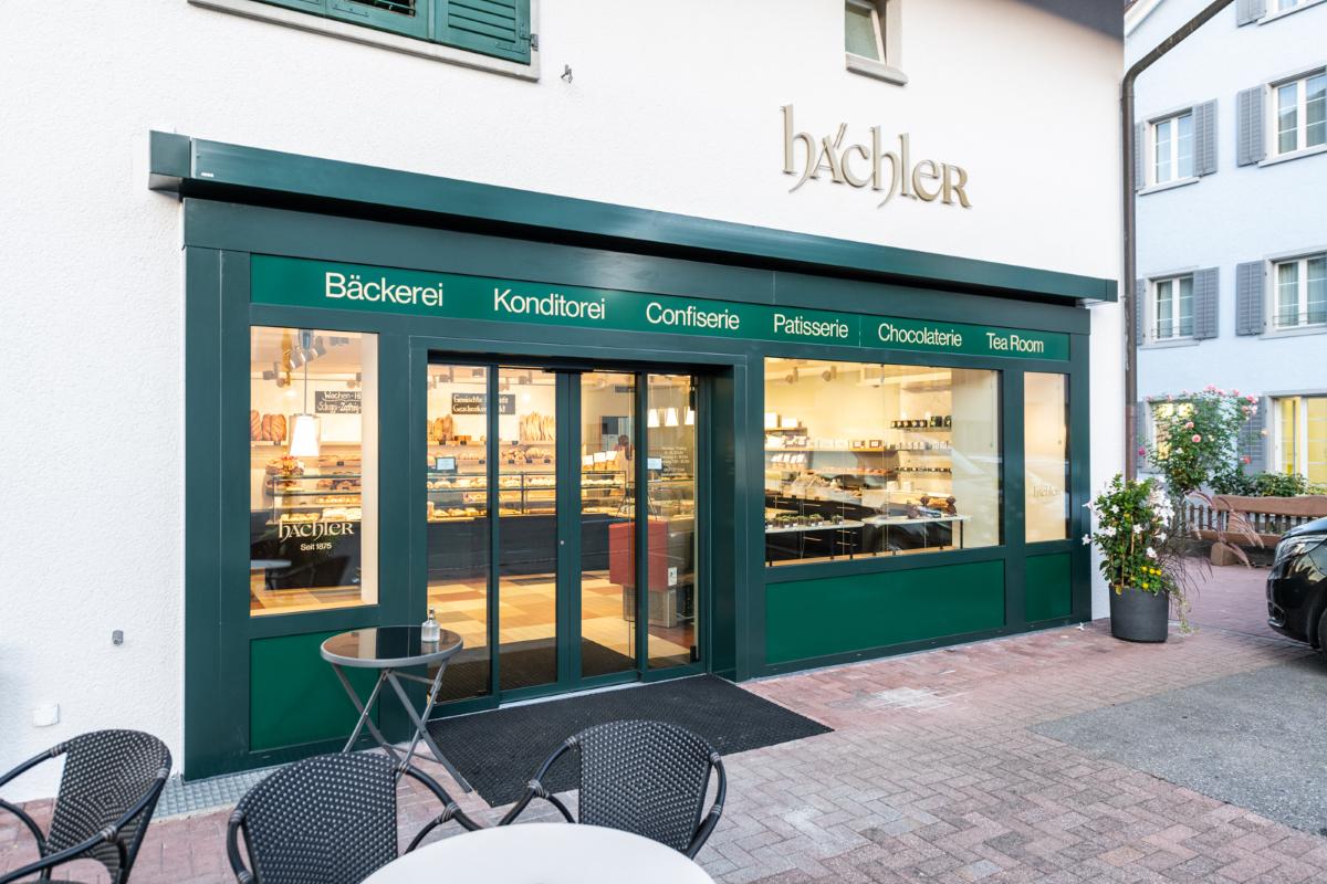 Aussenansicht Bäckerei Hächler AG in Seengen