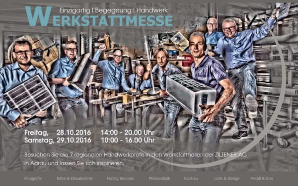 Werkstattmesse Aarau