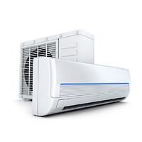 Foto: Innen- und Aussengerät einer Klimaanlage