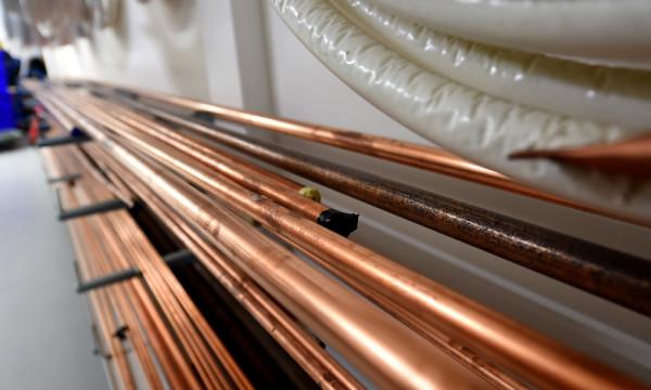 Foto: Kupferleitungen